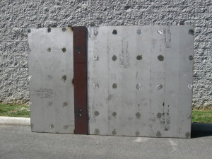blast proof wall