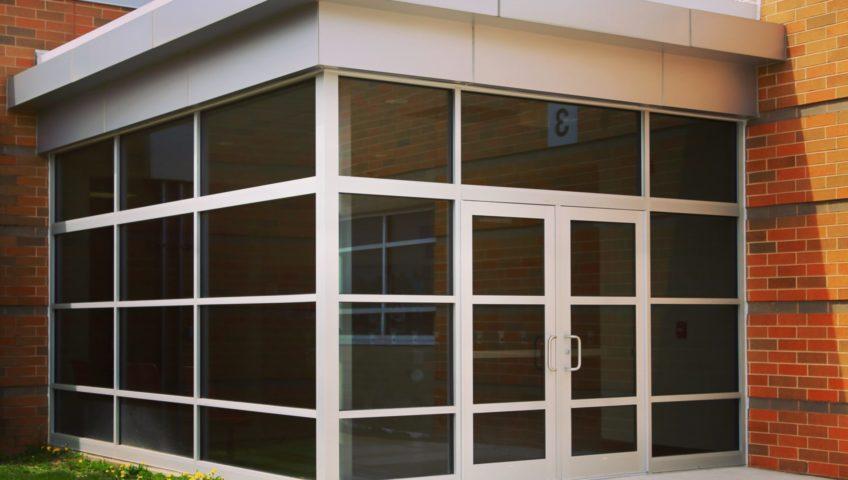 Kawneer Storefront Doors
